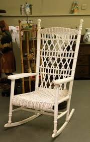 antique wicker porch rocker in the shop now pinterest