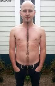 longest crotch hair not a penis