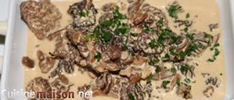 cuisiner les morilles fraiches croûte aux morilles