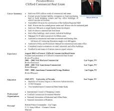 Real Estate Agent Resume Example by Creative Idea Real Estate Resume Sample 15 Real Estate Agent