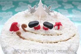 christmas cake decoration ideas decor idea stunning unique at