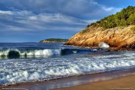 Where Is The Black Sand Beach Bar Harbor Beaches Acadia Region Beaches