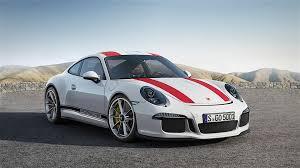 Porsche 911 Blue - maritime blue porsche 911 r with spring yellow stripes screams
