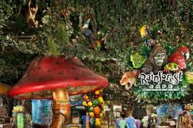 rainforest cafe turns off the animatronics at mgm grand eater vegas