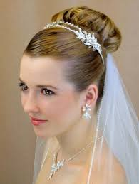 bride hairstyle with veil bridal hairstyles open semi open or