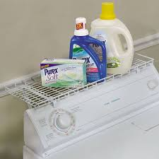 Laundry Room Detergent Storage by Amazon Com Household Essentials 05100 Over The Washer Storage