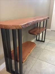 Small Hallway Table Table Beauteous Narrow Hallway Table Live Edge Console Sofa Hall