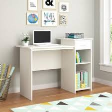 Laptop Desk White by Amazon Com Mainstays Student Desk White Finish Home Office