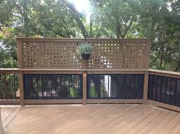 Patio Privacy Ideas Living Room Awesome Best 25 Privacy Deck Ideas On Pinterest Patio