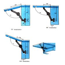 kitchen cabinet door soft closers 4 soft close lift up stay hinge concealed hardware door kitchen