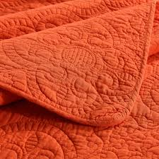 King Size Coverlet Sets Chausub Quality Embroidered Quilt Set 3pcs Cotton Quilts Quilted