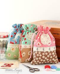 Tutorials By A Retro Drawstring Bag A Spoonful Of Sugar