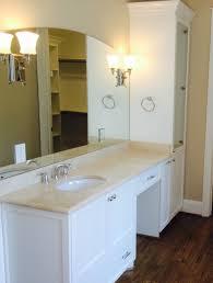 Refurbished Bathroom Vanity Bull Restoration Raleigh Nc
