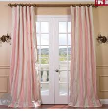 Pink Striped Curtains Diy Vertical Stripe Curtains Carissa Miss