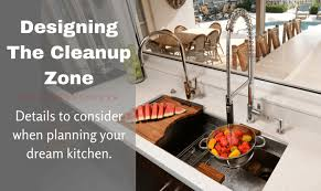 sink designs for kitchen not your mothers sink designing your cleanup zone signature