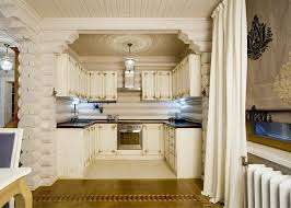 Kitchen Cabinet Curtains Moscow Painted Kitchen Cabinet Farmhouse With Tongue And Groove