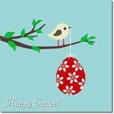 easter cards easter card colorful easter eggs on stalks a vibrant and