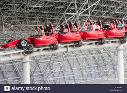 in abu dhabi roller coaster roller coaster at theme park in abu dhabi uae united