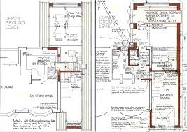 house extension project plan house plans