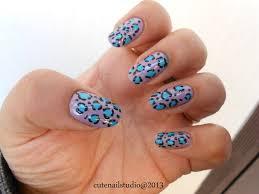 cute nails rimmel london 170 lively lilac leopard nail art