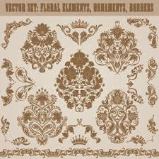 floral ornament border free vector 18 123 free vector