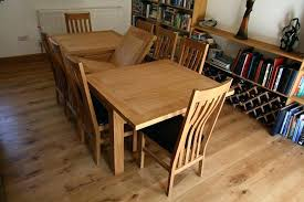 Oak Extending Dining Table And 8 Chairs Oak Dining Table And 8 Chairs Solid Oak Dining Room Furniture Sale