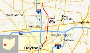 Map Of Southwest Ohio Ohio State Route 202 Wikipedia