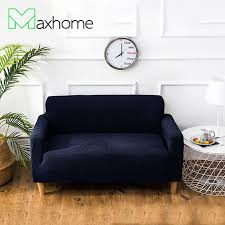navy blue sofa and loveseat elastic sofa cover stretch navy blue couch cover furniture protector