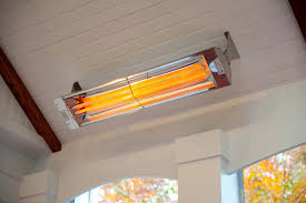 adding an infrared heater to a screened in porch is a great way to