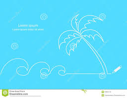beach line desing stock vector image 53801578