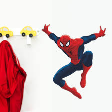 sticker notebook picture more detailed picture about cute cute cartoon spiderman wall stickers for kids rooms decals home decor nursery 3d for boy christmas