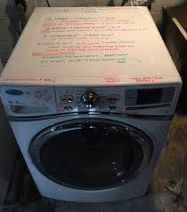 Dryer Leaves Marks On Clothes Write Instructions On The Washer With Dry Erase Markers