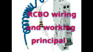 rcbo wiring rcbo working rcbo wiring diagram rcbo application