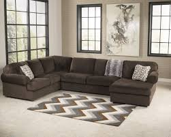 corner chaise sofa buy jessa place chocolate laf sofa with raf corner chaise by