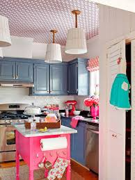kitchen cart cabinet small coastal kitchen white pendant pink portable kitchen cart