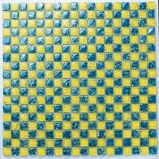Blue Backsplash Tile by Blue Backsplash Tile Glass Kitchen Bathroom Backsplash Yellow