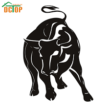 Great Dane Home Decor Compare Prices On Bull Wall Decal Online Shopping Buy Low Price