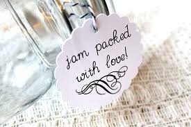 jam wedding favors jam packed with wedding favor tags favor tags