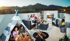 las vegas rooftop decks calatlantic homes