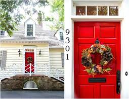front door face lift red meaning feng shui paint best colors dulux