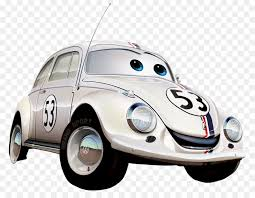 cartoon convertible car herbie lightning mcqueen mater car volkswagen beetle cartoon