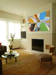 how to decorate living room walls area rug tips hgtv
