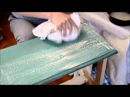 applying a chalk paint wash over wax u2013 a super short tutorial
