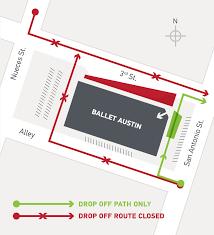 Traffic Map Austin by September 2015 Ballet Austin