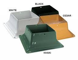 Metal Deck Bench Brackets - bench bracket set specify color 4 brackets
