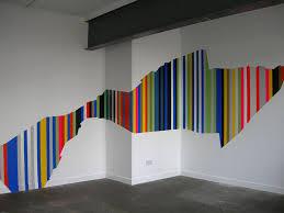 wandgestaltung mit streifen wandgestaltung streifen ideen dekoration auf andere wand streichen