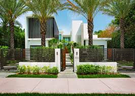 entrance to modern venetian isle home hgtv home style