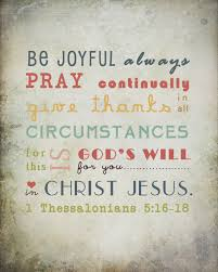 bible verse wall be joyful always pray continually give