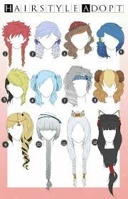 best 25 anime hairstyles ideas only on pinterest manga hair
