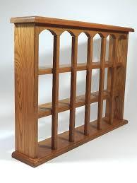 Curio Cabinets Ebay Wood Plate Shelf